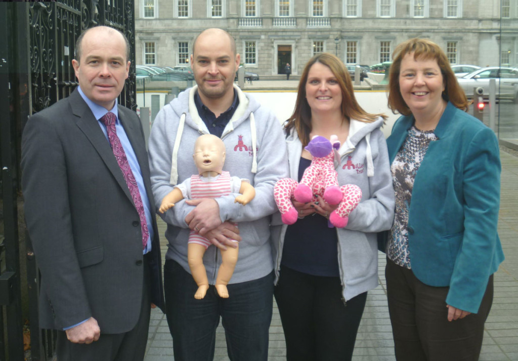 Working with Millie's Trust, a UK charity, Denis put a strong case to the Children's Minister James Reilly to change childcare regulations to include first aid training for babies & small children for every childcare worker and he has agreed to implement same. Denis also worked with Millie's Trust to provide free first aid training to parents & grandparents throughout Roscommon.