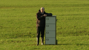 Has the filing cabinet now become more important that the field in agriculture?
