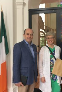 Denis Naughten, Minister for Minister for Communications, Climate Action and Environment with Katherine Zappone, Minister for Children and Youth Affairs